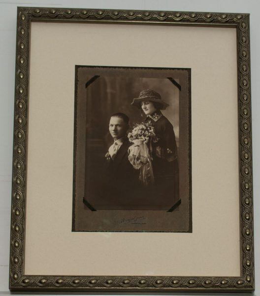 Old Photo Framed